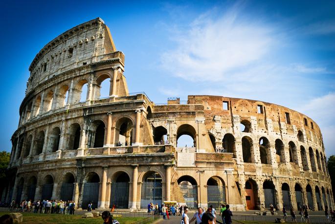 Nos élèves à Rome en 2018 !