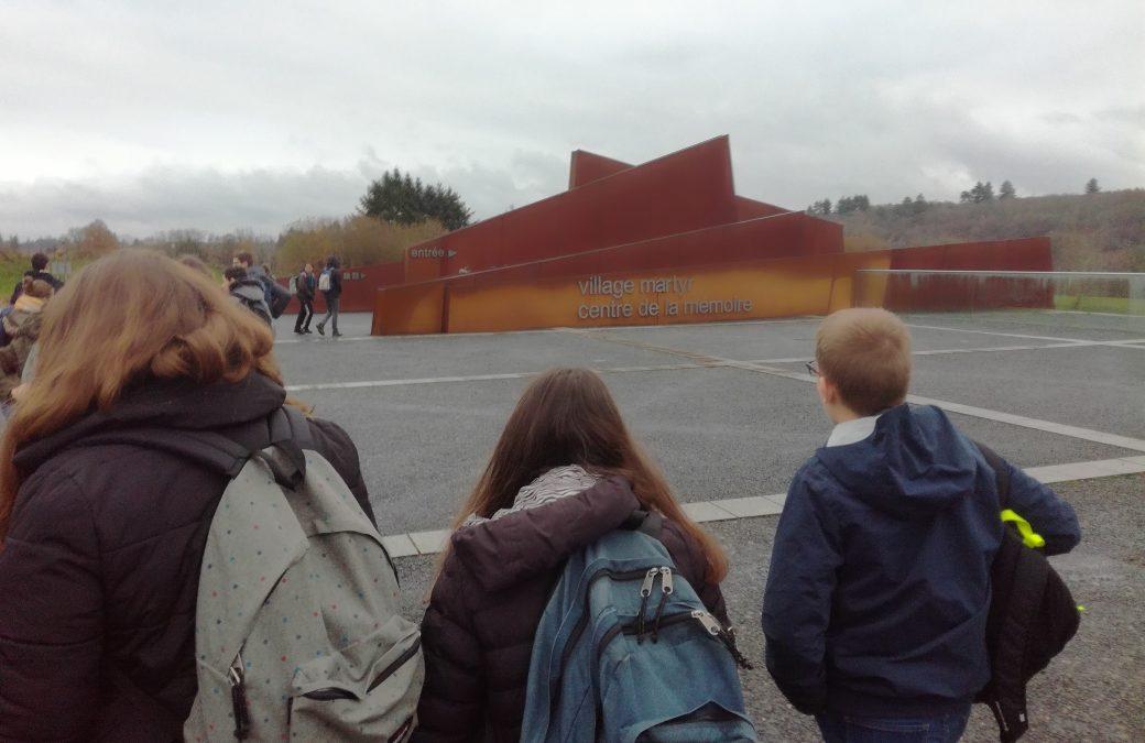 Sortie  pédagogique à Oradour/ Glane